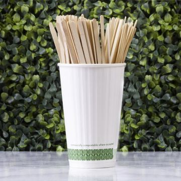 Vegware 5.5in fakeverő - 140 mm